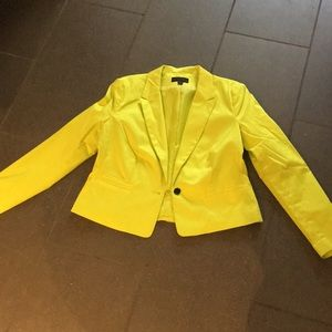 Green/yellow Worthington jacket